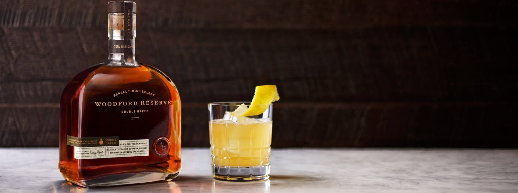 Double Oaked Whiskey Sour