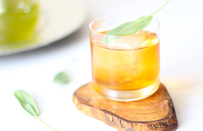 Sage Apple Old Fashioned