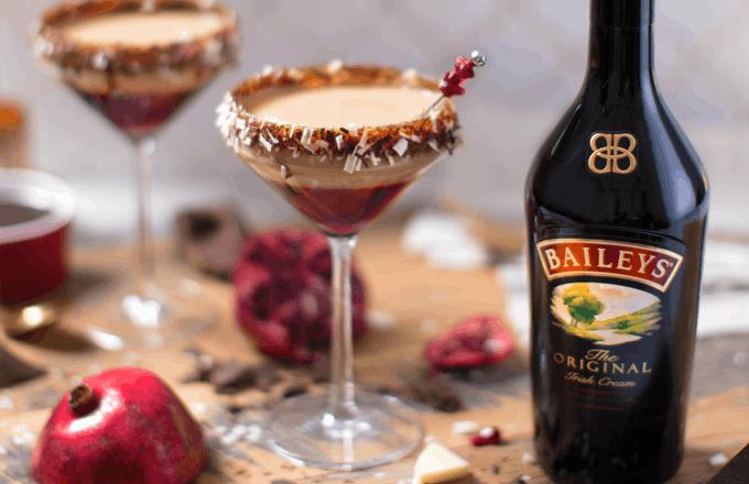 Baileys Pomegranate Martini