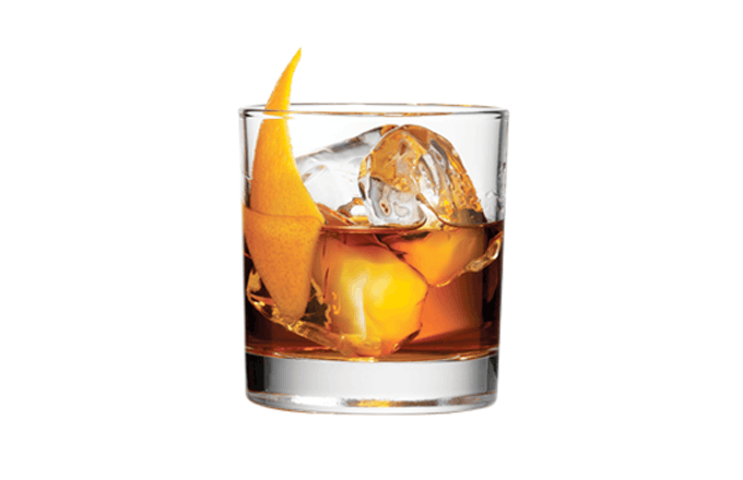 Anejo Rum Old-Fashioned
