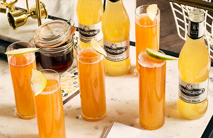 Strongbow Artisanal Blend Maple Mimosa